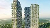 """Thiết kế chung cư Sol Forest Ecopark bị so sánh giống chung cư """"nuôi muỗi""""  tại Trung Quốc"""
