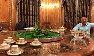 Cận cảnh căn biệt thự 300 tỷ dát vàng ở Hà Nội, ít ai ngờ chủ nhân là người đàn ông… buôn sắt vụn