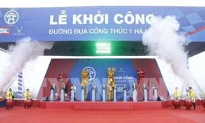 Khởi công đường đua công thức 1 tại quận Nam Từ Liêm, Hà Nội