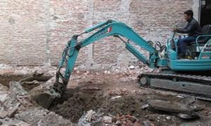 Phạt đến 30 triệu đồng nếu đào móng xây nhà khiến nhà hàng xóm hư hỏng