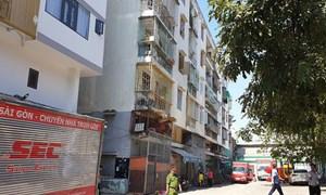 TP HCM chỉ đạo khẩn xử lý chung cư nghiêng
