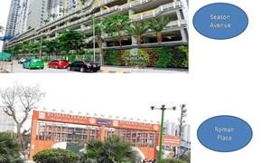 Nên chọn Seasons Avenue hay Roman Plaza Hà Đông?