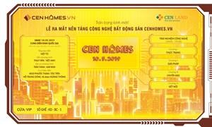 Lễ ra mắt nền tảng công nghệ BĐS CenHomes.vn