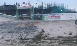 Siêu dự án The Arena Cam Ranh bị đình chỉ thi công, các nhà đầu tư hoang mang, bán tháo, cắt lỗ...