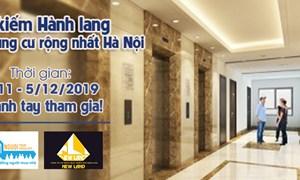 [Cuộc thi] - Tìm kiếm hành lang căn hộ chung cư rộng nhất Hà Nội