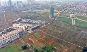 Đường sẽ mở theo qui hoạch ở Hà Nội: Toàn cảnh đường Lê Quang Đạo kéo dài qua KĐT Dương Nội
