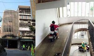 Cận cảnh chung cư không thang bộ cũng không thang máy vẫn đông người ở