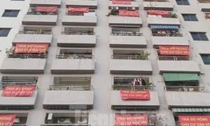 Cư dân nhiều chung cư buông bỏ chuyện đòi sổ hồng