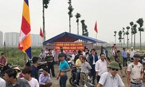 Dân phản đối phá cầu tại dự án Thanh Hà- Mường Thanh