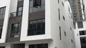 [Moi gioi]bán liền kề Hoàng Thành Villas, diện tích 104m2, lô góc mặt đường 21m, vỉa hè rộng 5m, 5 tầng - 1