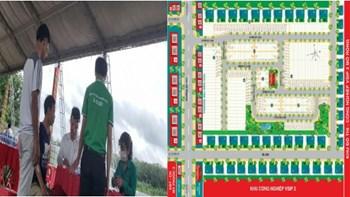 Dự án Khu nhà ở Chánh Hưng – Bến Cát City Zone chưa đủ điều kiện đã mở bán - 3