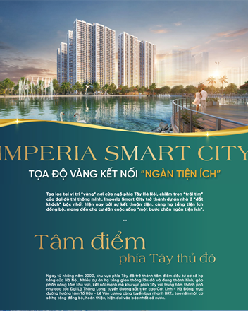 Imperia Smart City - Tọa độ vàng kết nối 'ngàn tiện ích' - 1