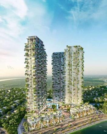 """Thiết kế chung cư Sol Forest Ecopark bị so sánh giống chung cư """"nuôi muỗi""""  tại Trung Quốc - 1"""