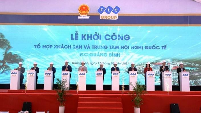 Khởi công 2 dự án thành phần trong tổ hợp 20.000 tỷ của FLC ở Quảng Bình - 1