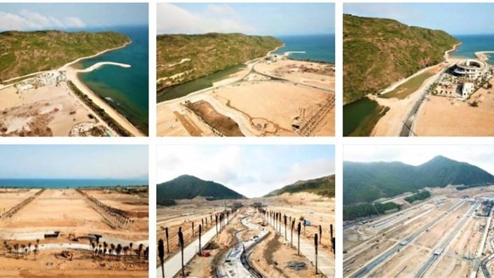 Cận cảnh Khu du lịch Hải Giang Mery Land - dự án 'ông trùm' casino của Macau muốn đầu tư dự án casino 6 tỷ đô - 1