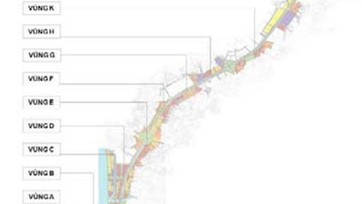 Hình hài 10 khu đô thị tương lai dọc theo tuyến Metro số 1 - 1