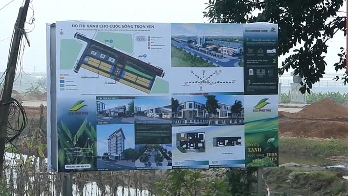 Dự án khu phức hợp ECO LAKESIDE HOME Tam Nông: Pháp lý dang dở, hạ tầng chưa xong những đã rầm rộ rao bán - 1