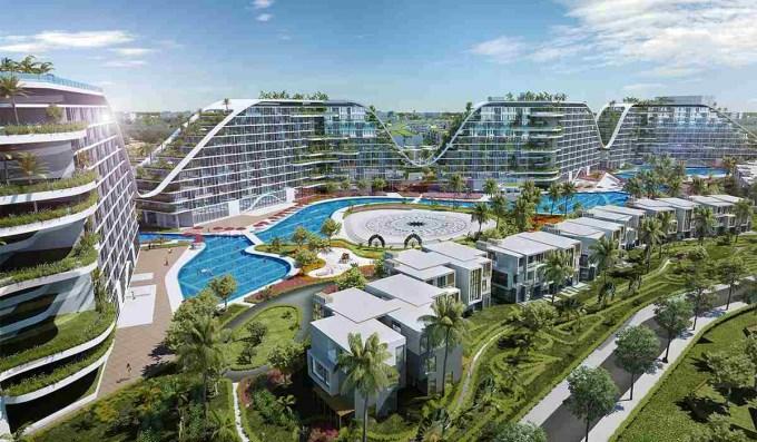 Ông Trịnh Văn Quyết - Chủ tịch FLC giới thiệu khách sạn có bể bơi dài gần 1km - 1