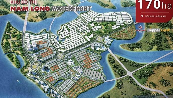 Keppel Land thoái hết vốn dự án khu đô thị Đồng Nai Waterfront City cho Nam Long thu lãi 39.2 triệu USD - 1