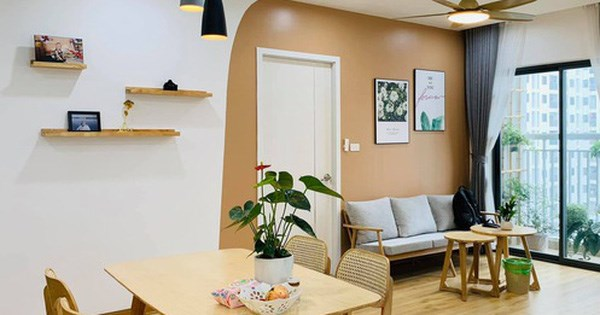 Nhà ở xã hội 69m² siêu ấm áp và tiện ích với chi phí cải tạo 200 triệu đồng của cặp vợ chồng 9X ở Từ Liêm, Hà Nội - 1