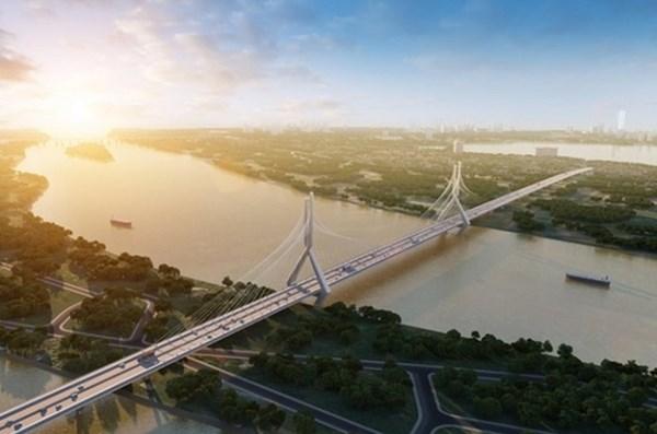 10 cây cầu được xây dựng qua sông Hồng, thị trường BĐS có thể thêm sôi động - 1