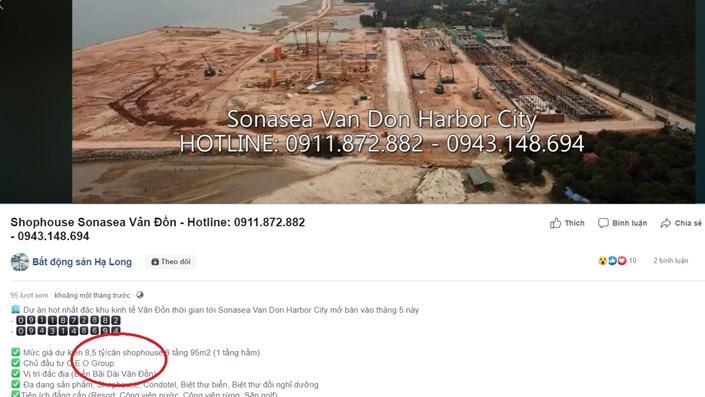 "Ai sẽ mua ShopHouse tại ""siêu dự án""  Sonasea Vân Đồn Harbor city? - 1"