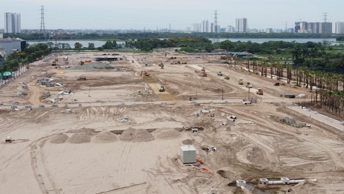 """Cận cảnh dự án Louis City Hoàng Mai giao đất không qua đấu thầu, """"xé rào"""" bán nhà - 1"""