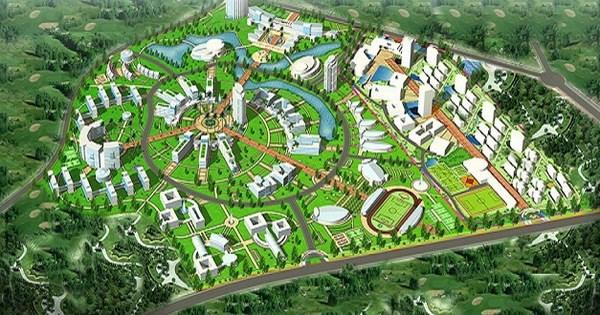 Siêu đô thị vệ tinh Hòa Lạc hơn 17.000ha có những gì? - 1