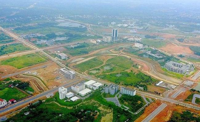 Một khu đô thị mới huyện Quốc Oai bị giảm diện tích đất xây dựng nhà ở - 1