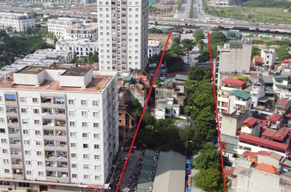 Ba đường sẽ mở theo qui hoạch ở phường Kim Giang, Thanh Xuân, Hà Nội - 1