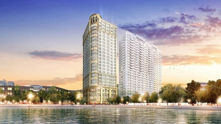 Review Condotel dát vàng 160 triệu/m2 Golden Lake Giảng Võ - 1