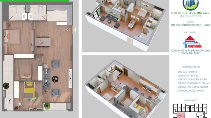Phú Thịnh Green Park mở bán đợt cuối các căn hộ phù hợp với gia đình nhiều thế hệ. - 7