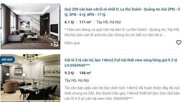 D'Leroi Solei của Tân Hoàng Minh: Căn hộ siêu sang, doanh thu… 0 đồng, khách ồ ạt cắt lỗ - 1