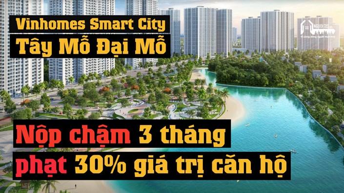 Người mua nhà Vinhomes Smart City bị giữ lại 30% giá trị căn hộ trong trường hợp nào? - 1