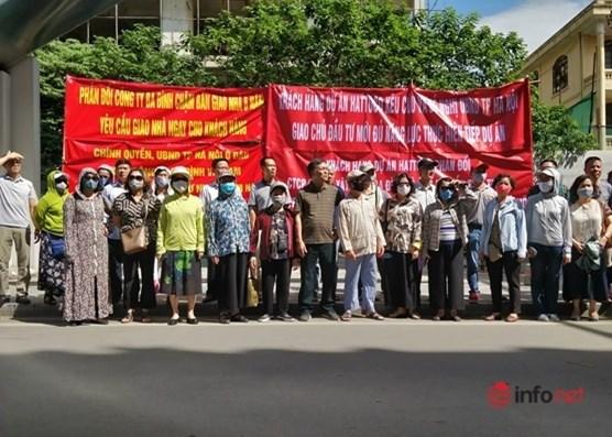 Hà Nội: Dự án siêu rùa, người mua đã 'về với tổ tiên', nhà vẫn chưa bàn giao - 1