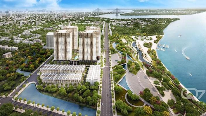Review dự án Q7 Saigon Riverside Complex  - 1