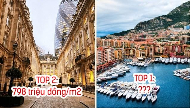 8 nơi có giá nhà đắt nhất thế giới: Ở địa điểm đứng Top 1, tiền tỷ mới mua được 1m2 đất - 1