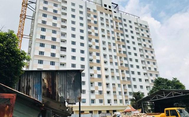 """TPHCM ra 'tối hậu thư' đối với dự án Tân Bình Apartment,  khách hàng hoang mang vì bị """"ngâm nhà"""" - 1"""