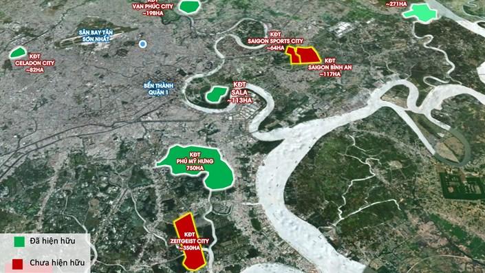 8 khu đô thị quy mô lớn đáng sống nhất TP.HCM hiện tại và trong tương lai - 1