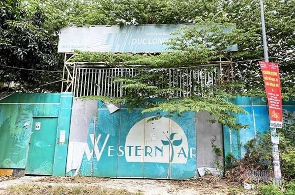 """Dự án Western Park: Thu tiền từ bãi đất trống, chủ đầu tư """"lặn mất tăm"""" - 1"""