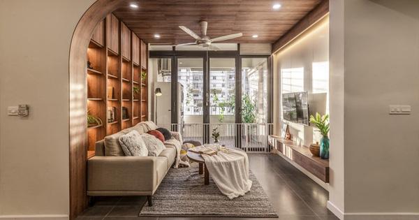 Chiêm ngưỡng căn chung cư 'đẹp mê hồn' của vợ chồng trẻ ở Hà Nội - 1