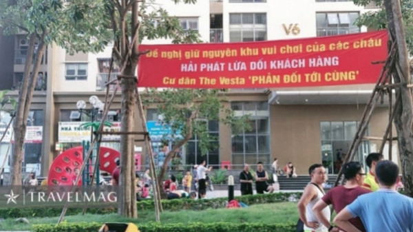 Hải phát Invest lại bị cư dân The Vesta tố lừa đảo - 1