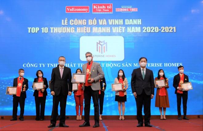 Masterise Homes vào Top 10 Thương hiệu mạnh Việt Nam 2021 ngay trong năm đầu tiên được đề cử - 1