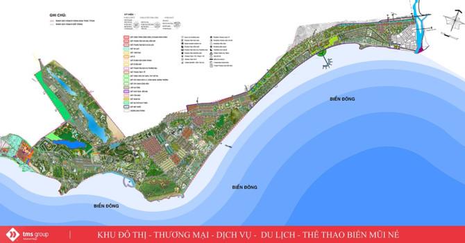 """Bỏ hoang dự án 200ha, TMS tính xây """"siêu tổ hợp"""" 1.350ha ở Bình Thuận - 1"""