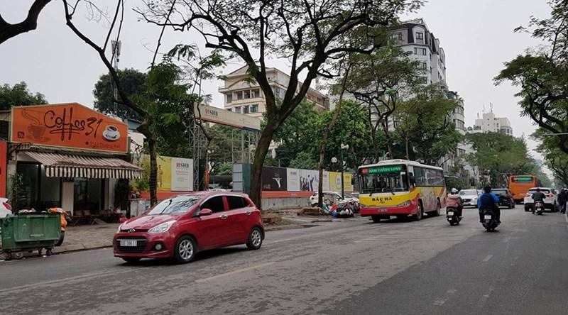Khu đất 31-35 Lý Thường Kiệt, rộng hơn 2.200 m2 được đề xuất xây dựng trụ sở văn phòng của Ngân hàng TMCP Sài Gòn - Hà Nội (SHB) cao 45m, quy mô 14 tầng+ 1 tum.