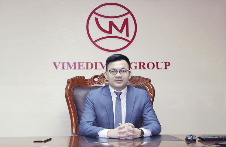 Ông Nguyễn Xuân Đức – Tổng giám đốc Công ty CP dược phẩm Vimedimex 2