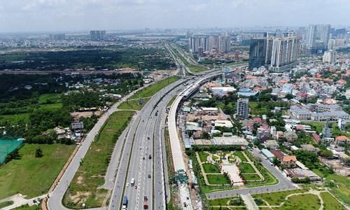 Giá đất TP HCM được dự báo tiếp tục đi lên trong năm 2019. Ảnh:Vũ Lê