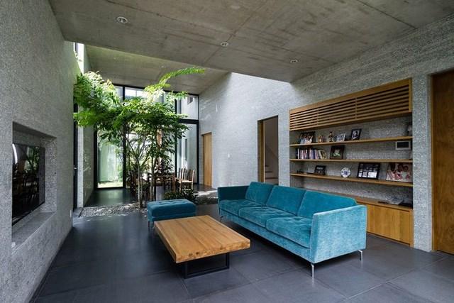 Nội thất tối giản của Binh House