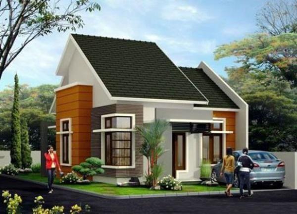 Mẫu số 9: Mẫu nhà 2 mái được thiết kế theo phong cách châu Âu với sân vườn rộng rãi được ưa chuộng ở cả thành thị và nông thôn.