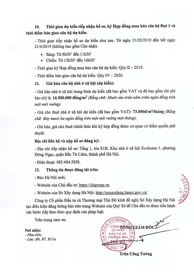 Tiếp nhận hồ sơ mua NOXH EcoHome 3 - Ảnh 3